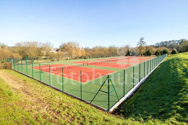 Tennis courts, Marlborough College
