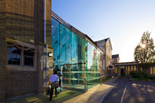 Stamford Endowed Schools main visitor entrance