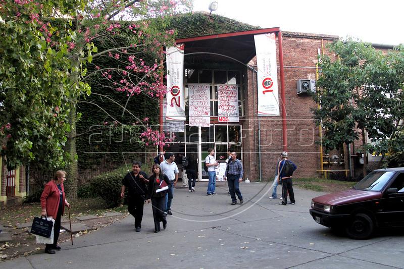 Universidad Nacional de Quilmes, Buenos Aires, Argentina, abril 8, 2010. (Austral Foto/Renzo Gostoli)