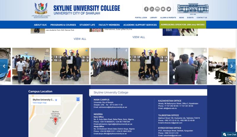Skyline University College (Sharjah, UAE)