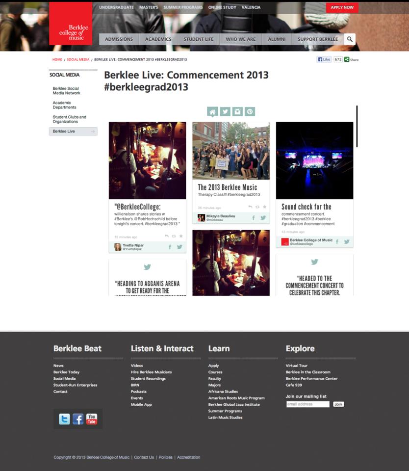 Berklee Commencement 2013