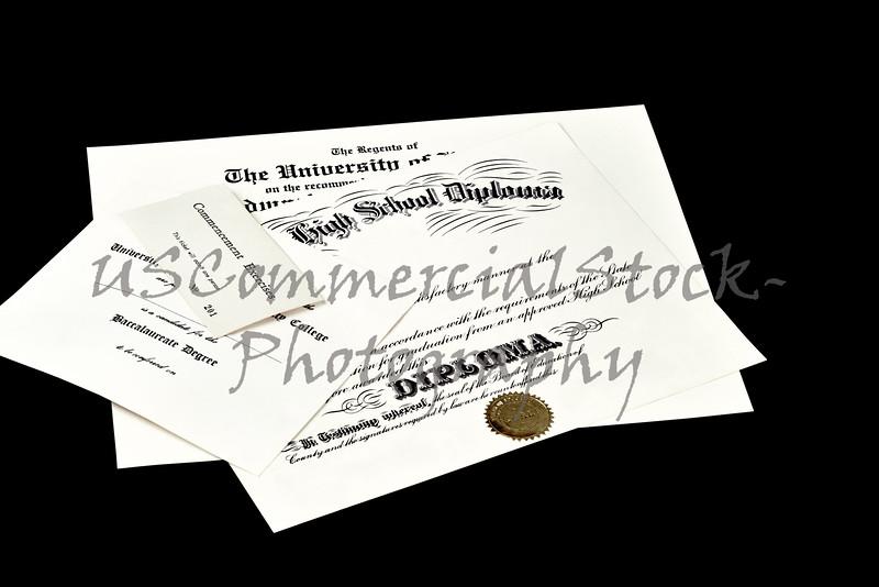 High School Diploma College Degree Certificate