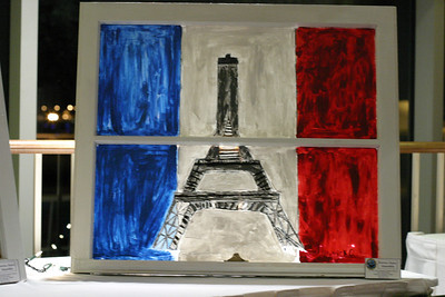 "In Patrick Grace's words The Eiffel Tower is one of the most marvelous man-made structures ever made. Grace said, ""I was inspired to paint this picture because I believe out of all of Europe this is the most beautiful structure of all."""