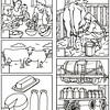 Art for Dairy Worksheet<br /> Orange County: Ranchos, Citrus and a Mouse<br /> 3rd Grade Local History Curriculum Supplement<br /> Commissioned by the Orange County Archives<br /> By Laura Hoffman<br /> <br /> Used by permission from the Orange County Archives