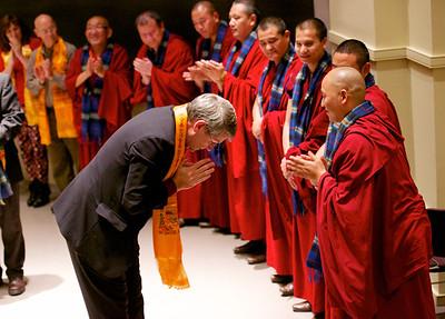 Buddhist Monks Visit UND