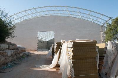 2012 Construction at Dar al-Kalima Sports Center
