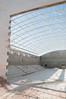 Construction progress at the Dar al-Kalima Sports Center in Bethlehem.  May 2012.  Photo © ELCJHL/Rev. Elizabeth McHan