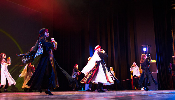 2013 al-Raja Dabke Performance - The Tale of the Wind and the Wave