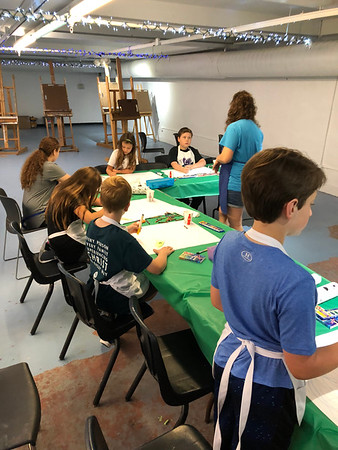 Face Me Too and Metal Clay Madness Summer Camp 2018