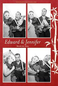 Edward + Jennifer (Luxe Photo Booth)