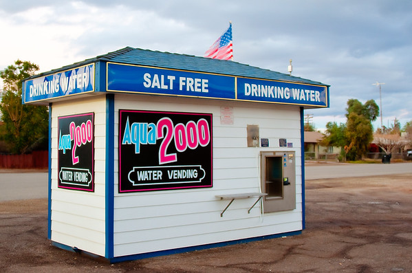 Salton Sea Salt Free Water Station