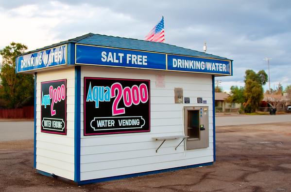 Salton Sea Salt Free Water Station