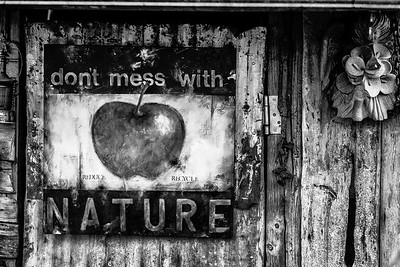 Don't Mess with Nature