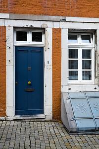 Blue Door and Chute