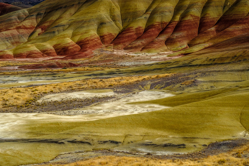 Painted Hills Valley Floor