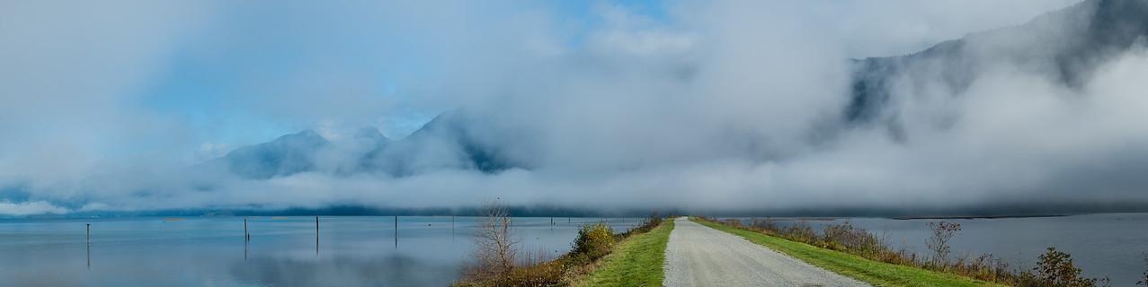 Pitt Lake Panorama