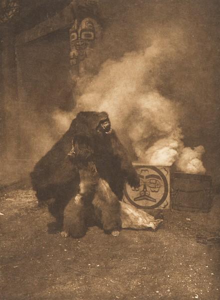 Grizzly-Bear Danger - Qagyuhl (The North American Indian, v. X. Norwood, MA: The Plimpton Press, 1915)