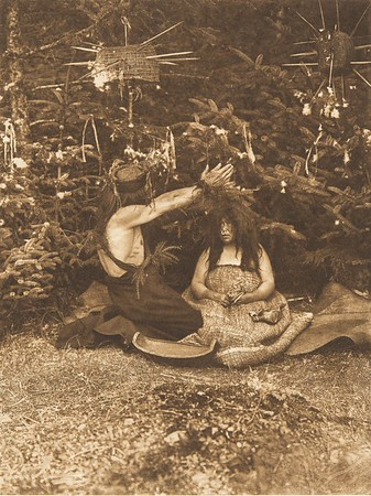 Twin Child Healer - Koskimo (b) (The North American Indian, v. X. Norwood, MA: The Plimpton Press, 1915)