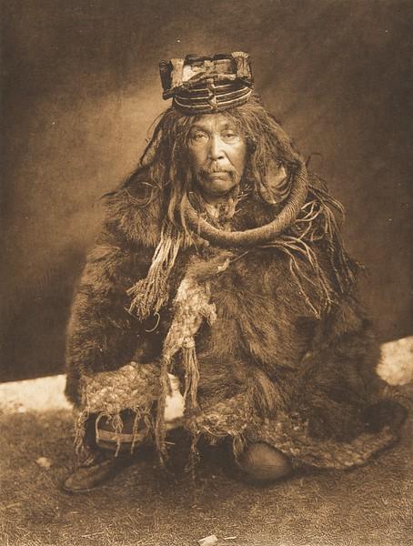 A Hamatsa Costume - Nakoaktok (The North American Indian, v. X. Norwood, MA: The Plimpton Press, 1915)
