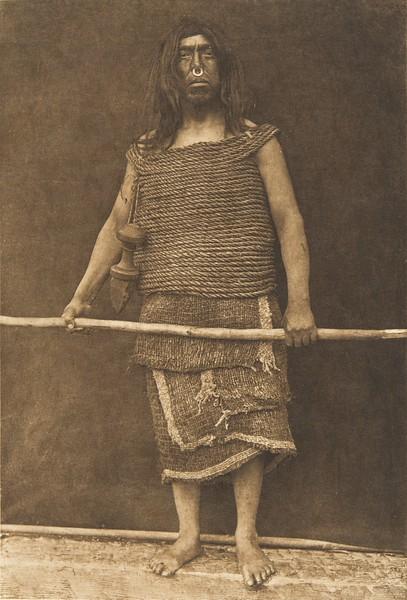 Nakoaktok Warrior (The North American Indian, v. X. Norwood, MA: The Plimpton Press, 1915)