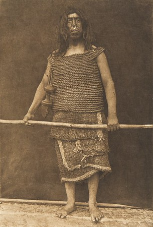 Nakoaktok Warrior (The North American Indian, v. X. Norwood, MA: The Plimpton Press, 1915)