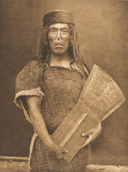 Nakoaktok Chief and Copper (The North American Indian, v. X. Norwood, MA: The Plimpton Press, 1915)