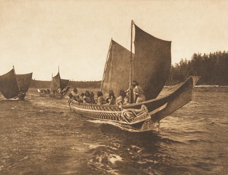 A Fair Breeze [Kwakiutl] (The North American Indian, v. X. Norwood, MA: The Plimpton Press, 1915)