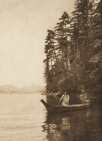 The shores of Nootka (The North American Indian, v. XI. Cambridge, MA: The University Press, 1916)