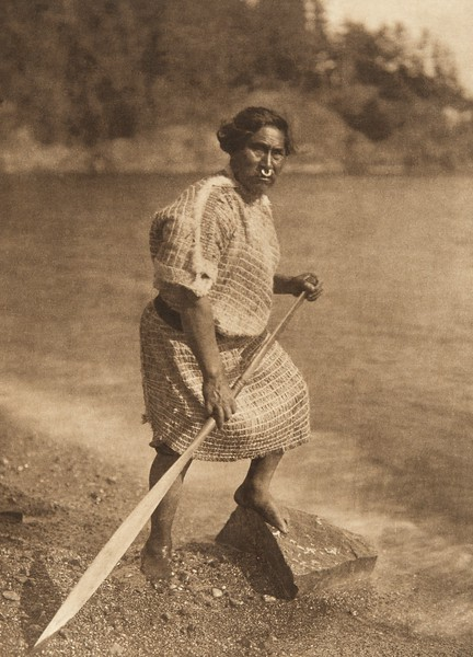 A Nootka  (The North American Indian, v. XI. Cambridge, MA: The University Press, 1916)
