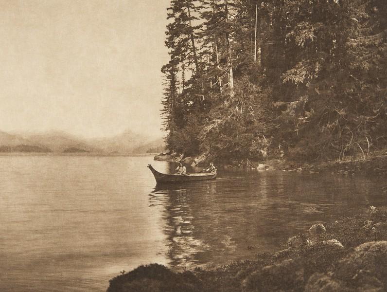 Boston Cove  (The North American Indian, v. XI. Cambridge, MA: The University Press, 1916)