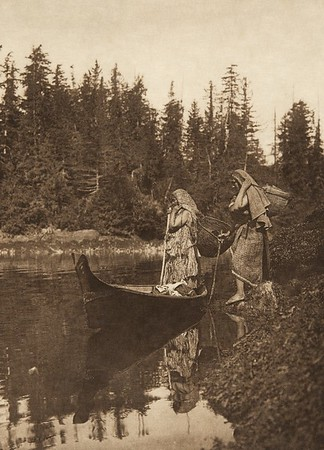Quiet waters (The North American Indian, v. XI. Cambridge, MA: The University Press, 1916)