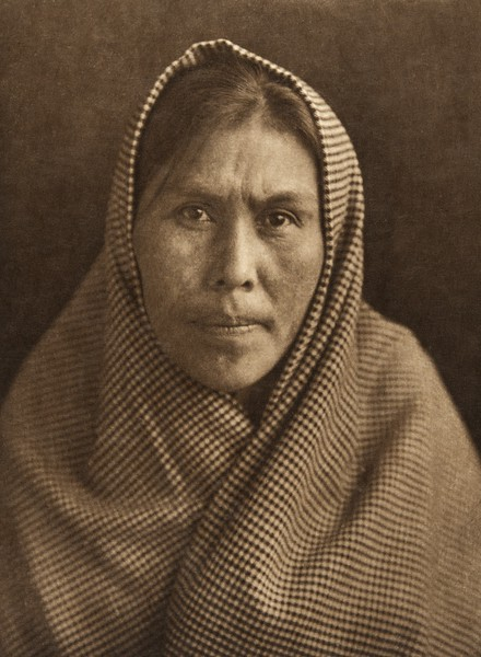 A woman of Massett - Haida (The North American Indian, v. XI. Cambridge, MA: The University Press, 1916)