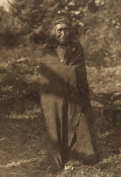 Nootka man (The North American Indian, v. XI. Cambridge, MA: The University Press, 1916)