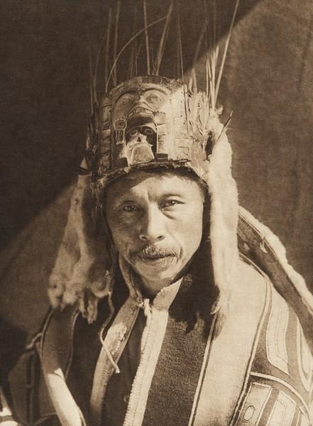 Raven Chief of Skidegate - Haida (The North American Indian, v. XI. Cambridge, MA: The University Press, 1916)
