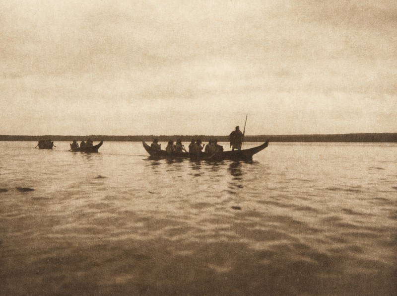 Haida Canoes (The North American Indian, v. XI. Cambridge, MA: The University Press, 1916)