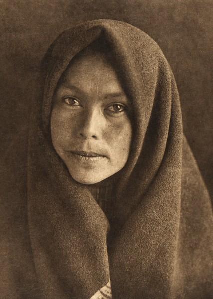 A woman of Kiusta - Haida (The North American Indian, v. XI. Cambridge, MA: The University Press, 1916)