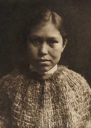 A Hesquiat belle (The North American Indian, v. XI. Cambridge, MA: The University Press, 1916)