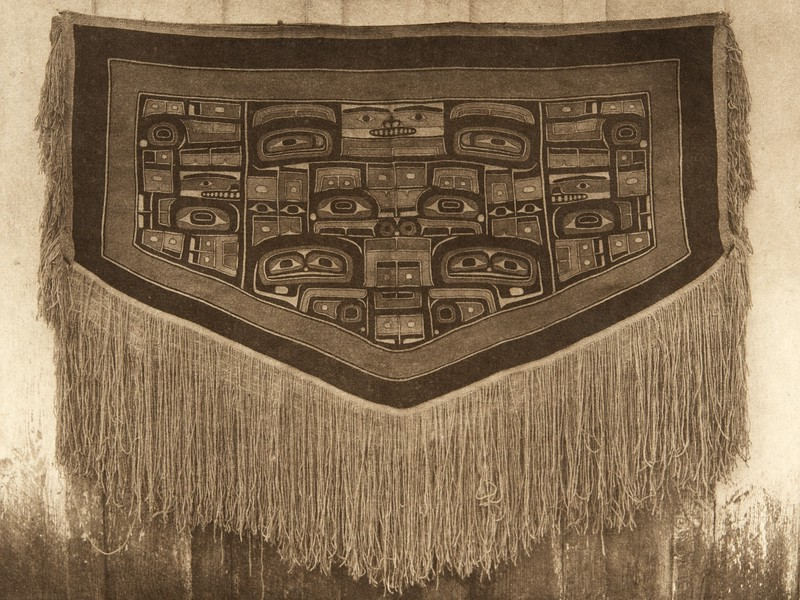Chilkat blanket , the Haida ceremonial robe (The North American Indian, v. XI. Cambridge, MA: The University Press, 1916)