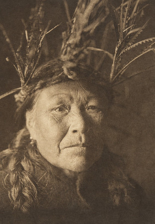 The whaler's wife (The North American Indian, v. XI. Cambridge, MA: The University Press, 1916)