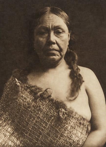 A Clayoquot woman (The North American Indian, v. XI. Cambridge, MA: The University Press, 1916)