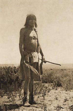Sikyaletstiwa -- Shipaulovi snake chief (The North American Indian, v. XII. Norwood, MA, The Plimpton Press, 1922)
