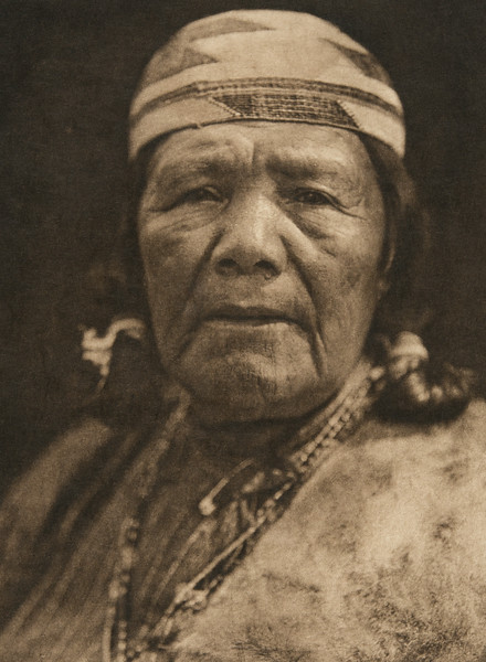 Hupa matron (The North American Indian, v. XIII. Norwood, MA, The Plimpton Press,  1924)