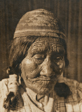 An ancient Yurok (The North American Indian, v. XIII. Norwood, MA, The Plimpton Press,  1924)