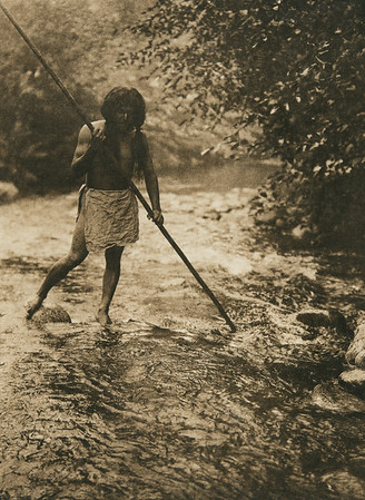 The forest stream (The North American Indian, v. XIII. Norwood, MA, The Plimpton Press,  1924)