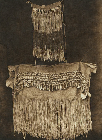 Hupa woman's dress (The North American Indian, v. XIII. Norwood, MA, The Plimpton Press,  1924)