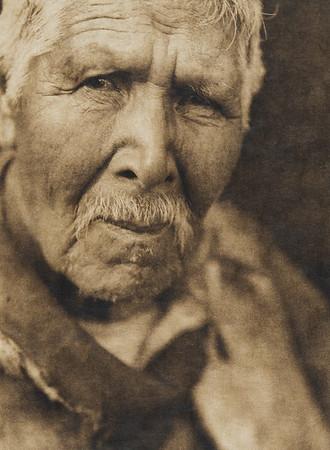 Hupa war-chief (The North American Indian, v. XIII. Norwood, MA, The Plimpton Press,  1924)
