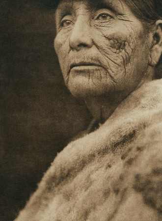 Hupa woman (The North American Indian, v. XIII. Norwood, MA, The Plimpton Press,  1924)