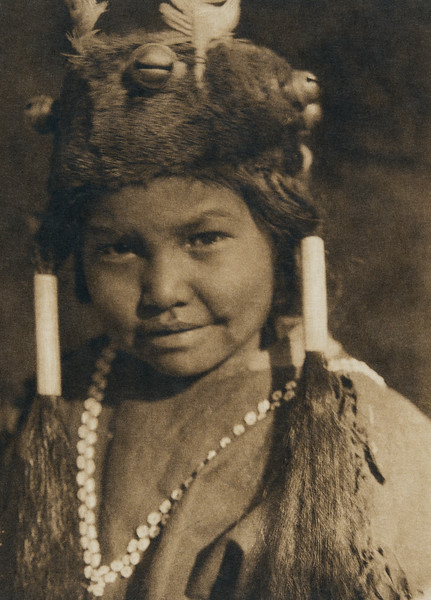 Klamath child (The North American Indian, v. XIII. Norwood, MA, The Plimpton Press,  1924)