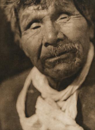 Achomawi man (The North American Indian, v. XIII. Norwood, MA, The Plimpton Press,  1924)