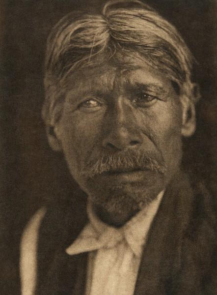 A Chukchansi  head-man (The North American Indian, v. XIV. Norwood, MA, The Plimpton Press, 1924)